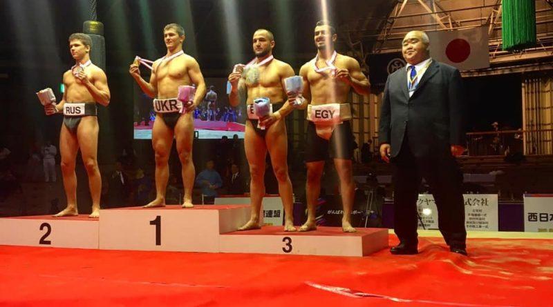 Българин спечели бронзов медал по сумо на състезание в Осака