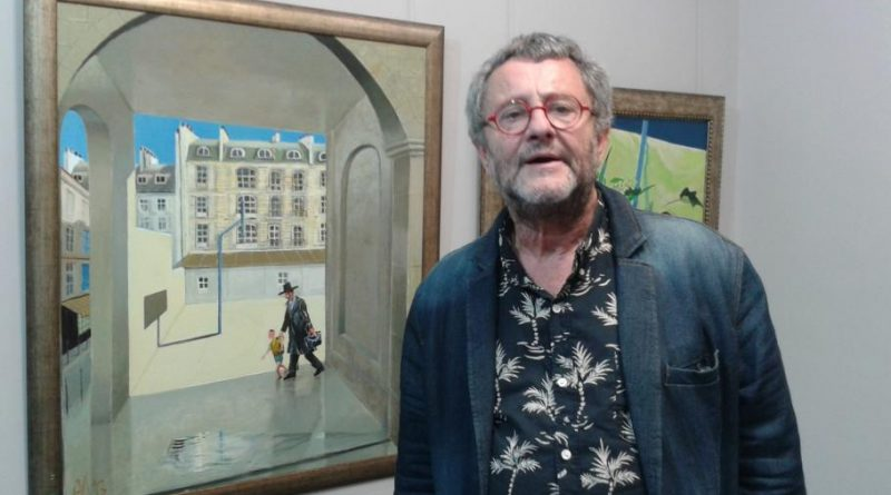 Големият български художник проф. Андрей Даниел почина