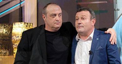 Димитър Рачков и Краси Радков застанаха един до друг на сцената