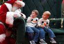 Дядо Коледа раздава подаръци само след ваксина