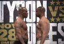 Бившият шампион в тежка категория Майк Тайсън се завръща на ринга тази вечер